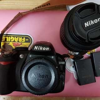 Nikon D3100 14.2MP Digital SLR Zoom Lens Kit with 18-55mm