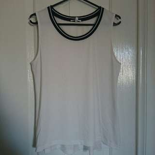 Large Valleygirl Top With Mesh/See Through Sides