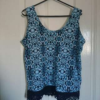 Size 14 Rivers Top