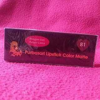 PROMO !! Purbasari Color Matte 81 Diamond