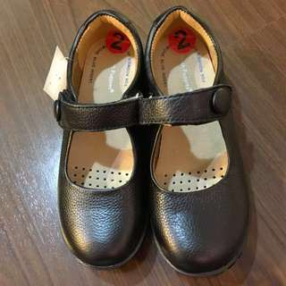 New Leather school shoes Hush Puppies