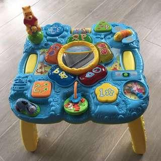 小熊維尼學習發展遊戲桌