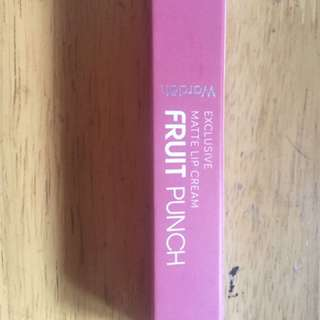Wardah lip cream no. 13 fruit punch