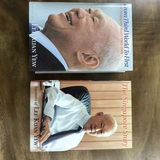 Lee Kuan Yew Memoirs Boxed Set: The Singapore Story and From Third World to First