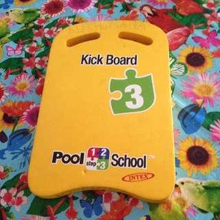 Kick board pool school intex