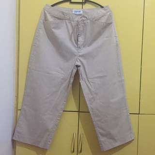 Esprit Women's 3/4 Chinos Pants