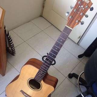 Chris 單板木吉他
