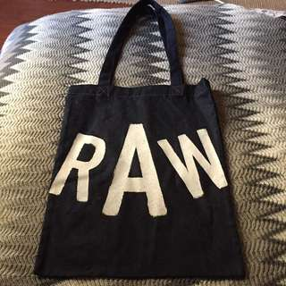 authentic gstar raw denim tote