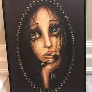 "Angelina Wrona ""Oblivious"" - Art Block Frame"