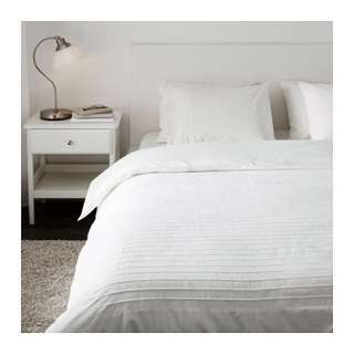 Ikea Alvine Stra Double Duvet Cover (fits queen and king beds)