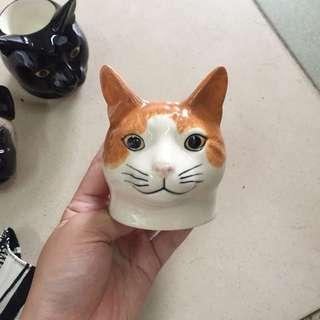 貓咪 燭台 飾品檯