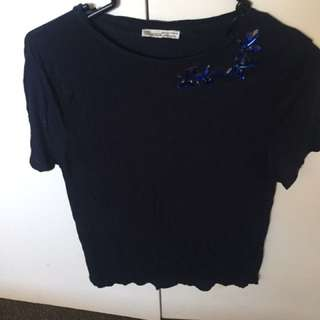 Zara detail top