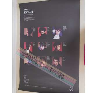 [READY STOCK]EXO KOREA OFFICIAL POSTER 1PC SHIP USING TUBE (PRICE NOT INCLUDE POSTAGE)(PLEASE READ DETAILS FOR MORE INFO)