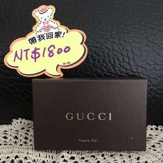 『極新』GUCCI 滿版雙G logo皮革手機套/名片夾