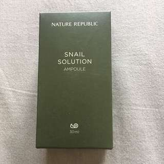 Nature Republic Snail Solution Ampoule