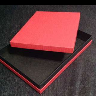 Solid Red Gift Box