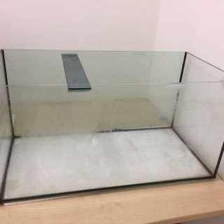 Glass Aquarium 3 Feet Each