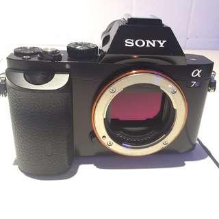 Sony A7s 數位單眼相機 ( 9成新 )