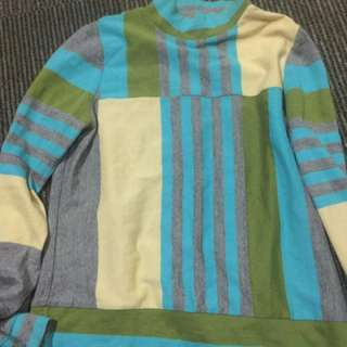 Nice Color Long Sleeves Blouse from Japan