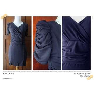 LW386 DRESS BODYCONE NAVY