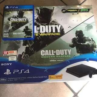 PS4 Infinite Warfare legacy Edition Bundle