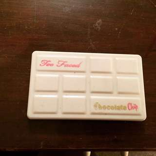 Too Faced white chocolate palette. limited edition
