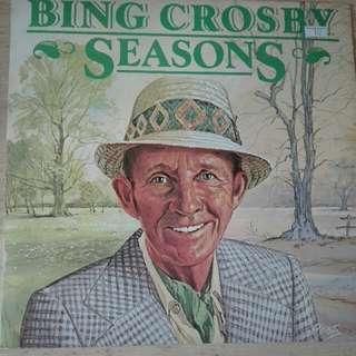 Bing Crosby Seasons Vinyl LP