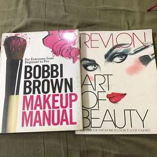 Authentic makeup books Bobbie brown /revlon