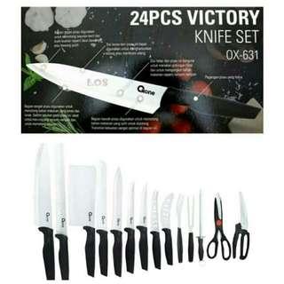 Pisau Set Oxone Victory Knife Set