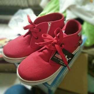 🚚 全新 紅色鞋 帆布 22號 #雙十一大出清