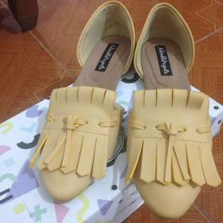 RE-PRICE Adorable project flatshoes