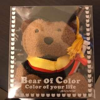 畢業熊仔鎖匙扣