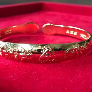 Kruba Noi Wat Sri Don Moon - 7 Wasps Wealth Bangle