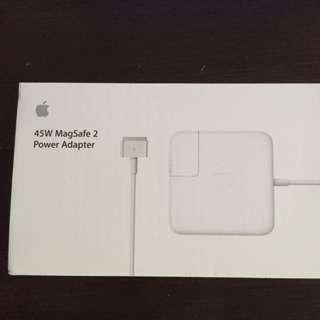 Apple magsafe2 45W adaptor