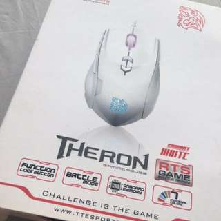 Theron Combat White Gaming Mouse