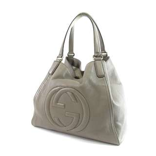 GUCCI (Gucci) Soho 282,309 tote bag for women, leather (Used)  FREE SHIPPING FROM JAPAN