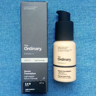 The Ordinary Coverage Foundation 2.0N