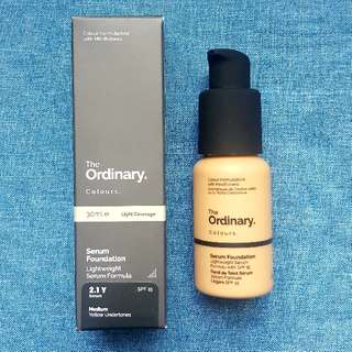 The Ordinary Serum Foundation 2.1Y