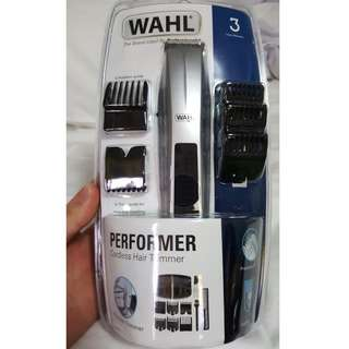 Wahl Performer Trimmer Battery Operated with Bonus Brand New