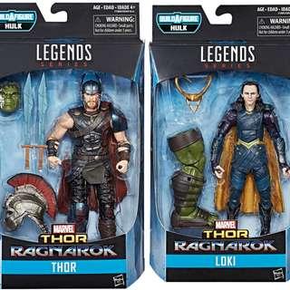 Marvel Legends Thor Ragnarok - Thor & Loki Set