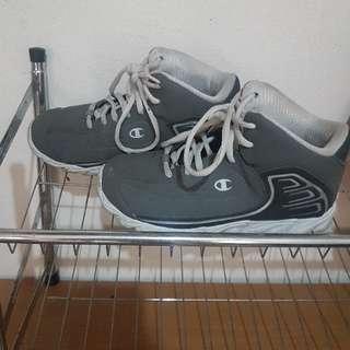 SALE! Champion Gray Basketball Shoes For Boys