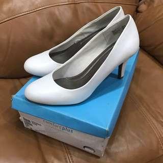 Comfort Plus White Shoes