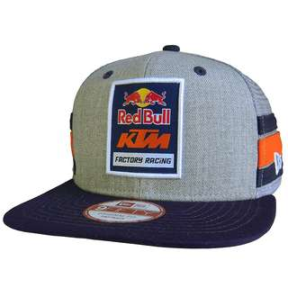 New Era × Red Bull Cap Snap Back Overseas Limited NEW ERA × REDBULL Mesh Cap Collaboration Gray FREE SHIPPING FROM JAPAN