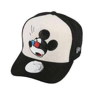 Disney × New Era Disney × New Era 940 Cap Golf Dee Frame Multi Logo Seek Indic Mickey Mouse White Melton Black Melton Black Melton Multi Color Snow White   FREE SHIPPING FROM JAPAN