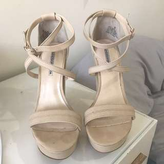Windsor Smith Strappy Nude Heels