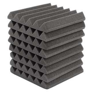 Soundproofing Acoustic Foam Tiles (305mm x 305mm x 45mm)
