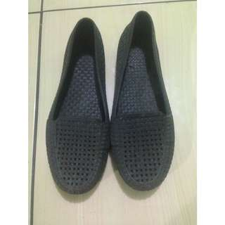 Jelly Shoes Hitam