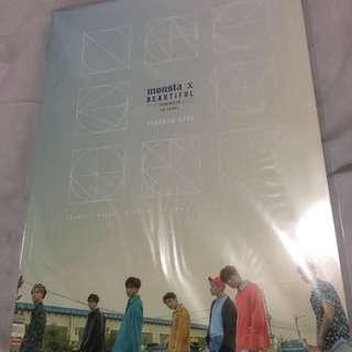 Monsta x beautiful in Seoul concept book