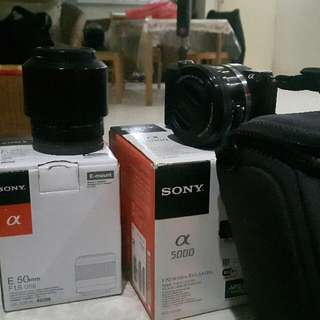 Sony A5000 And Sony Lense 50mm/1.8