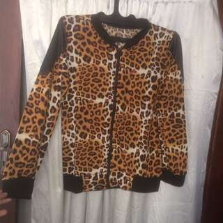 Import Leopard Jacket/Blazer
